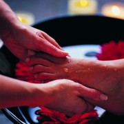 Польза массажа стоп своему мужу