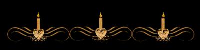 ЛИНЕЙКА 3 свечи миг